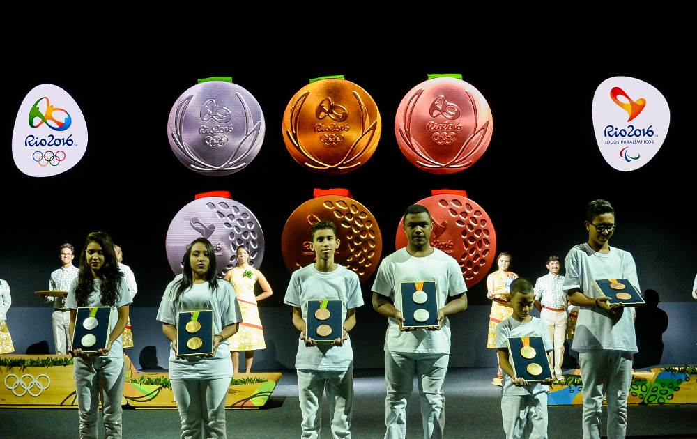 Rio 2016 premiacion