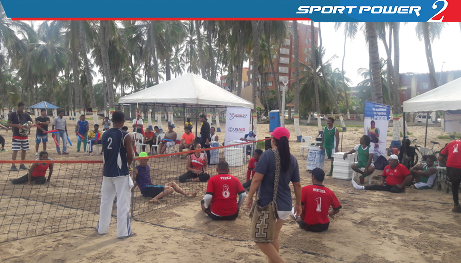 Voleibol sentado playa guajira (1)