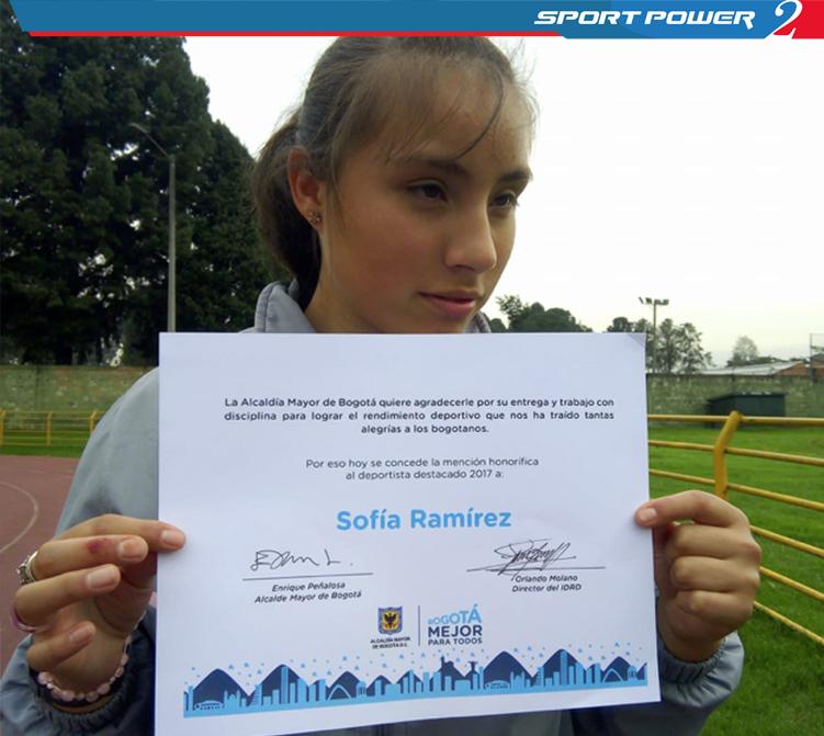 Alcaldía Mayor de Bogotá  entrega mención de honor a deportista SportPower2 (2)