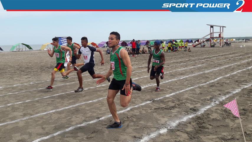 Torneo de Atletismo Adaptado en la barrio la Boquilla de Cartagena