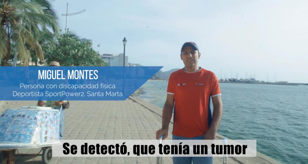 """""""Los invito a que sueñen en grande y que los hagan realidad"""" Miguel Montes"""