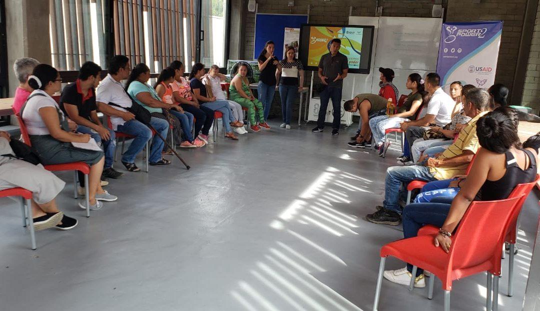 Continuamos llevando alegría y esperanza a personas con discapacidad víctimas del conflicto armado en Colombia