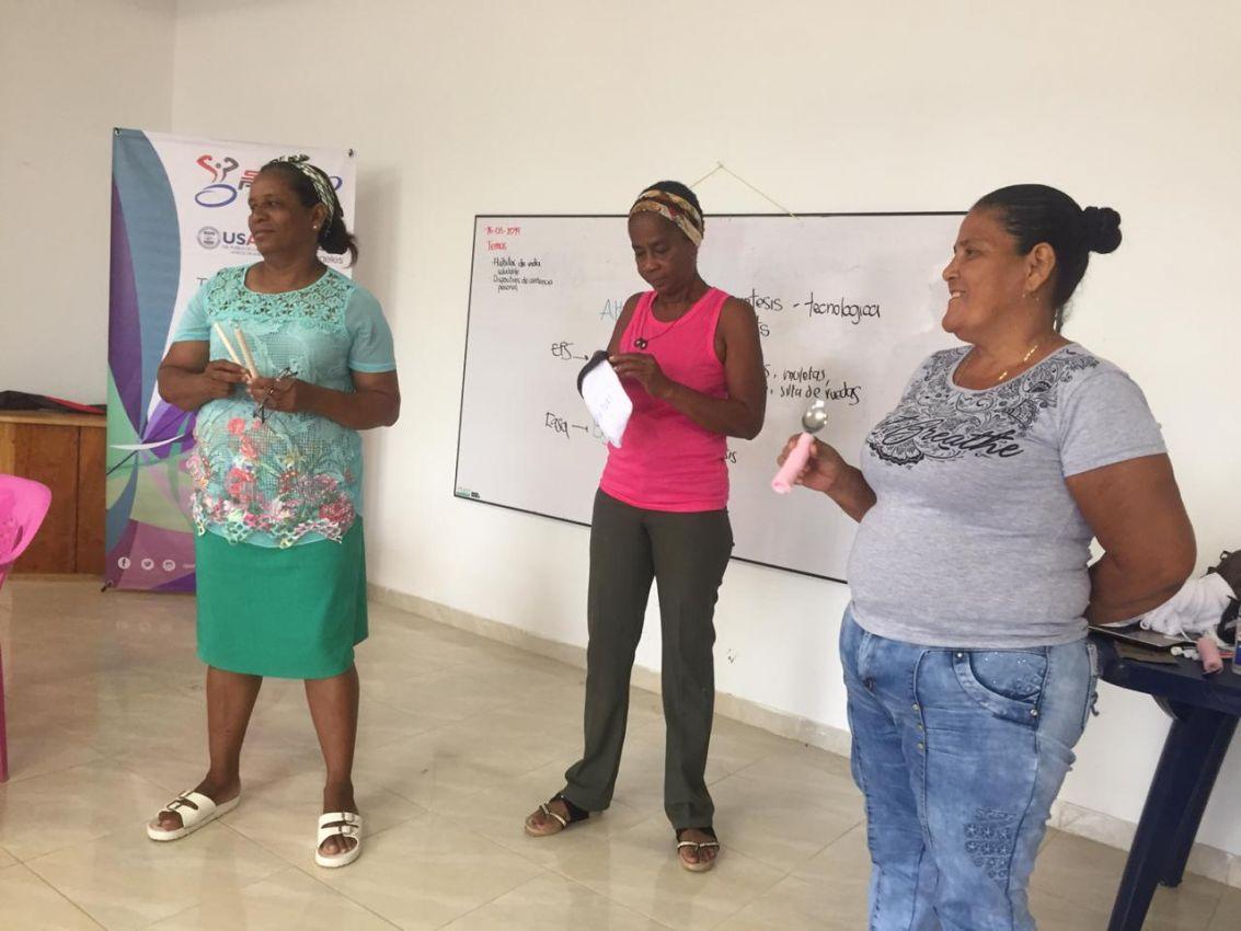Seguimos trabajando para que la comunidad entienda lo  importante de reconstruir el tejido social