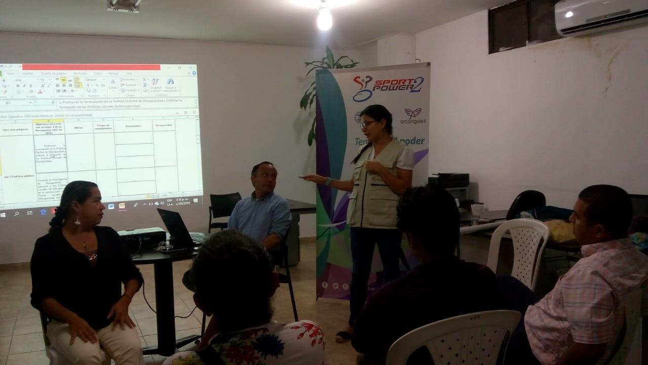 Santa Marta y Ciénaga se unen para romper los límites, trabajando por y para las personas con discapacidad