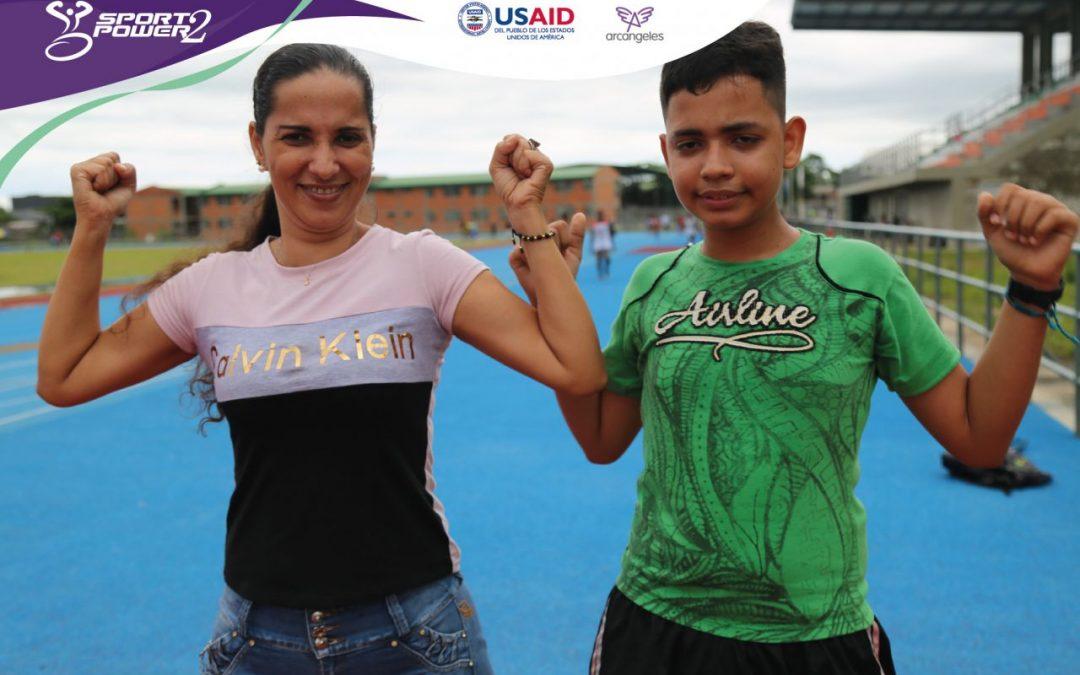 SportPower2 no solo cambia la vida de los participantes, sino también la de sus familias