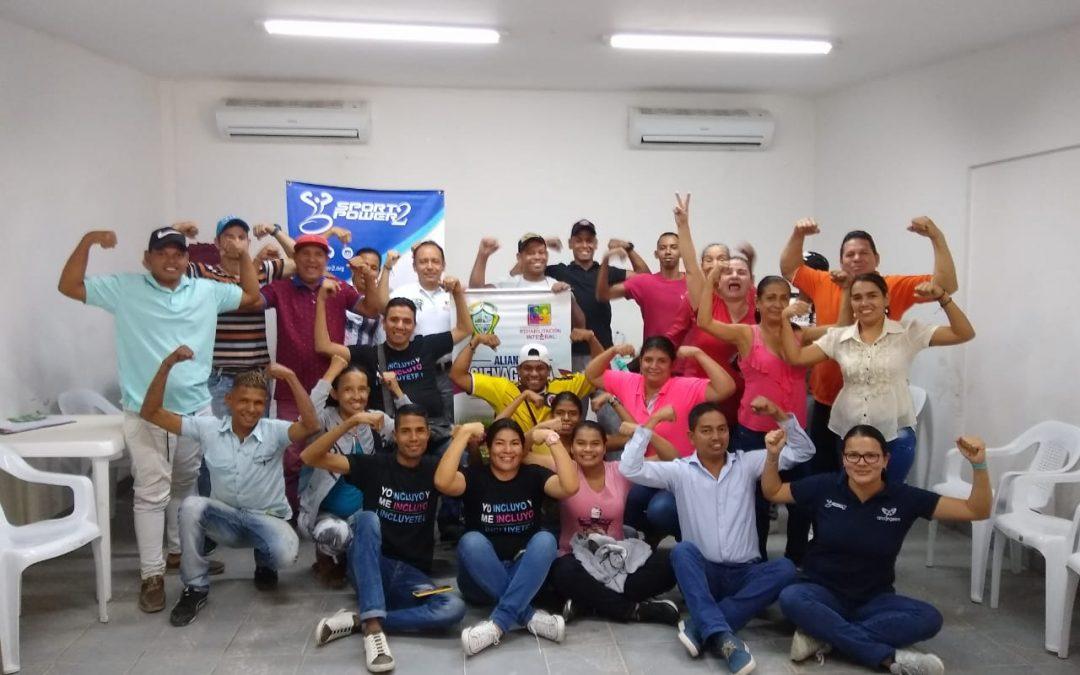SportPower2 continúa contribuyendo con herramientas para el desarrollo de la población con discapacidad en Antioquia y Magdalena