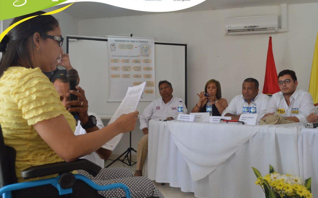 La población con discapacidad se pronunció en Ciénaga: primer Foro de incidencia política en el Magdalena