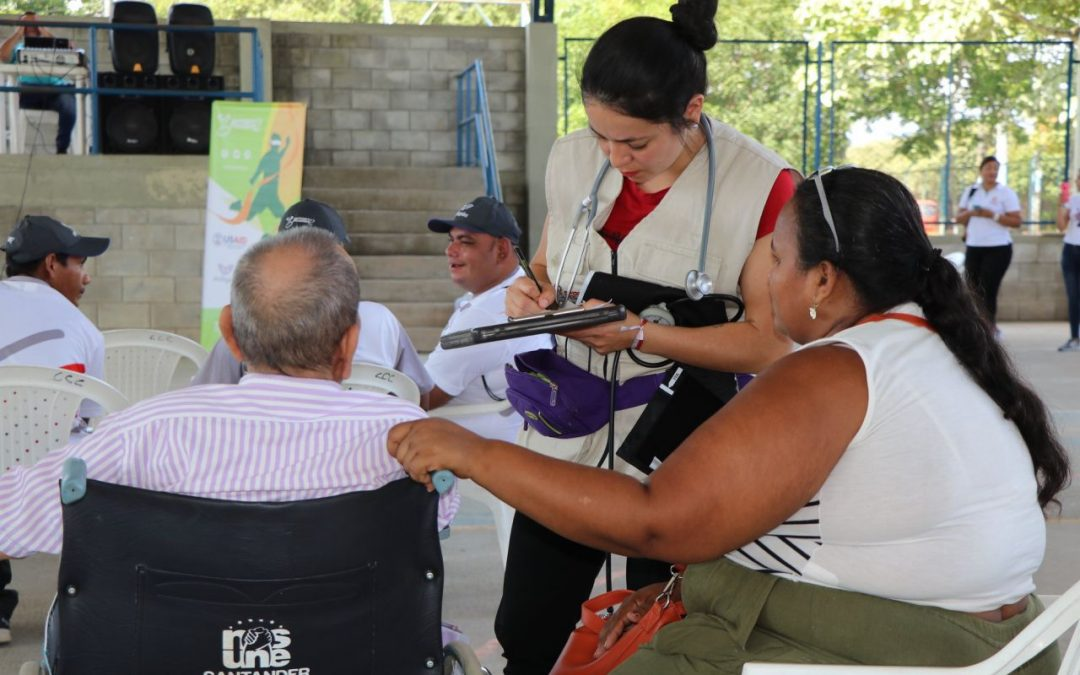 Jornada de salud en Puerto Wilches atendió a más de 180 personas del casco urbano y zonas rurales del municipio
