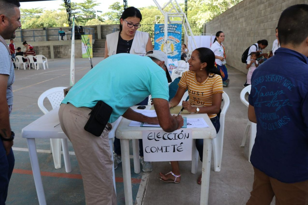 Jornada de salud en Puerto Wilches