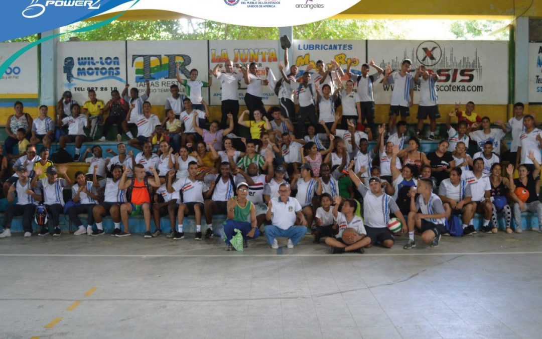 Primera versión de los encuentros deportivos SportPower2 realizada en Antioquia y Caquetá