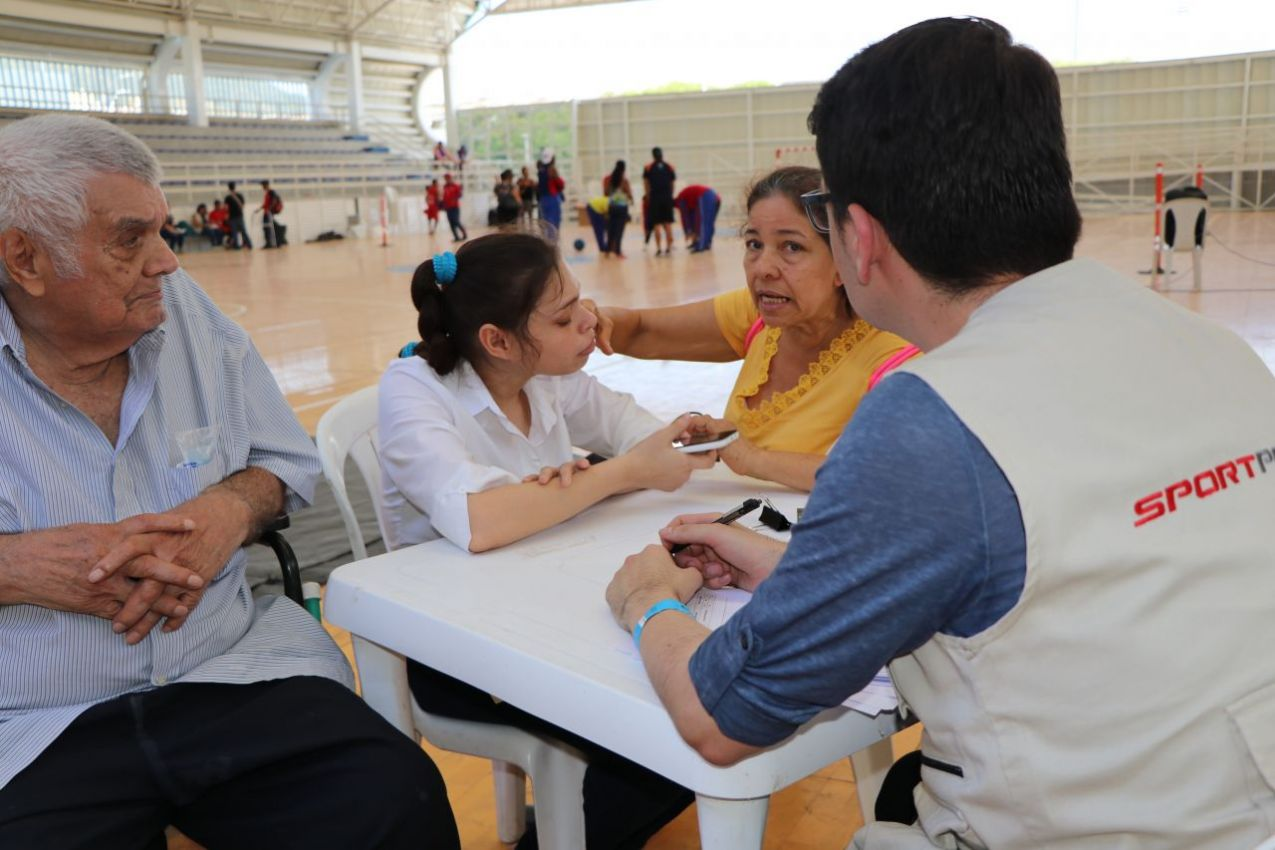 Feria de servicios realizada en Santa Marta estuvo cargada de deporte, salud e Inclusión laboral