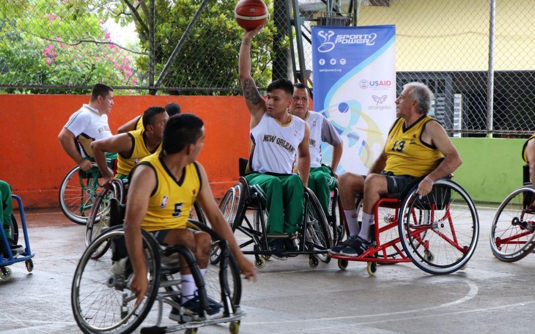 El Baloncesto en silla de ruedas se fortalece en SportPower2
