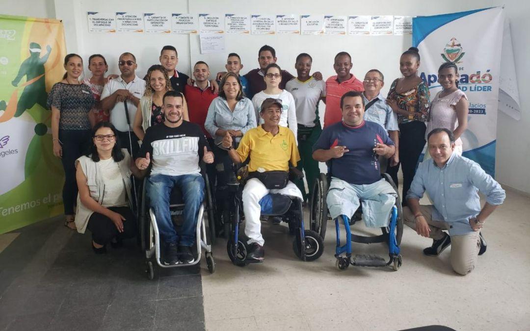 SportPower2 continúa fortaleciendo el proceso de incidencia política de la población con discapacidad