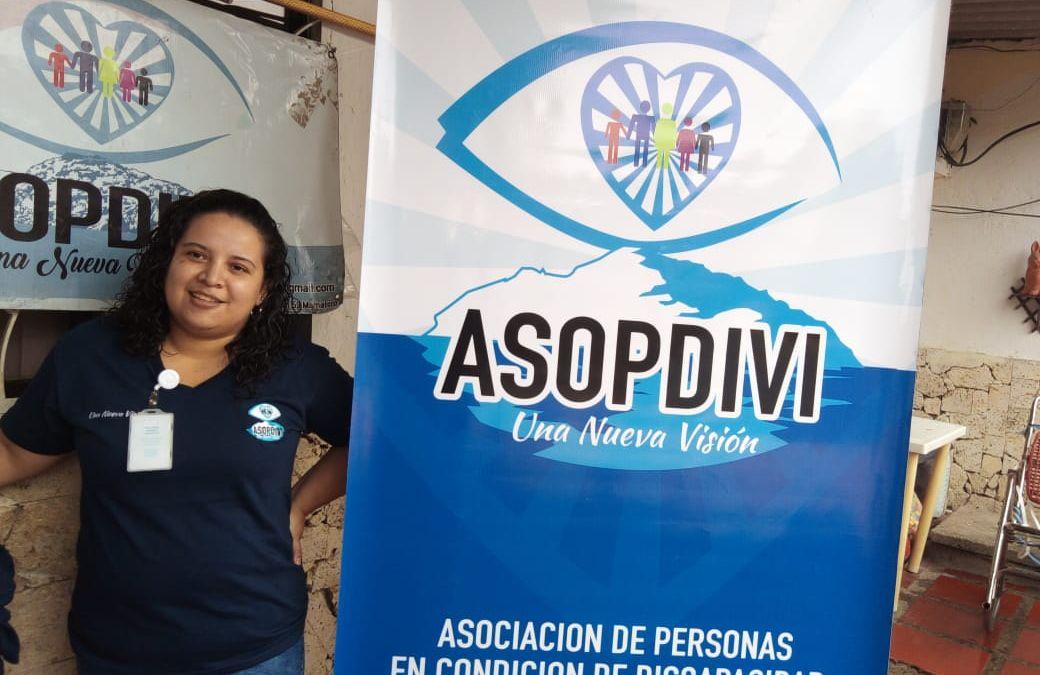 Aportando con elementos de imagen corporativa al fortalecimiento de organizaciones para personas con discapacidad