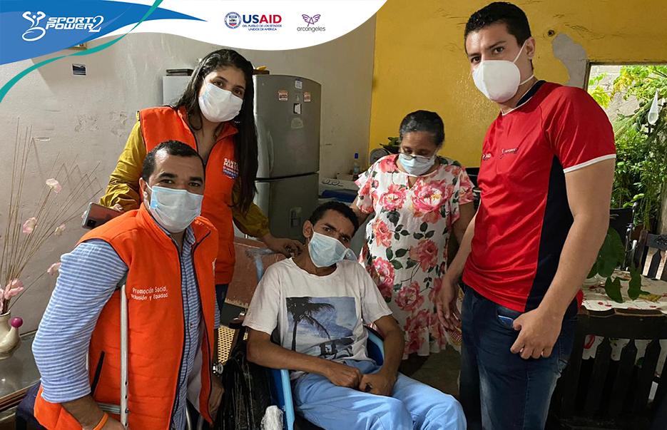 SportPower2, Fundación Arcángeles y la Orden de Malta entregan sillas de ruedas en diez municipios de Colombia