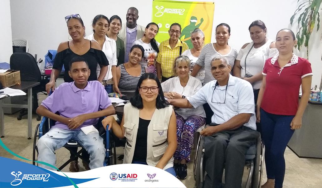 Aportando al desarrollo de emprendedores y organizaciones de personas con discapacidad en Santa Marta