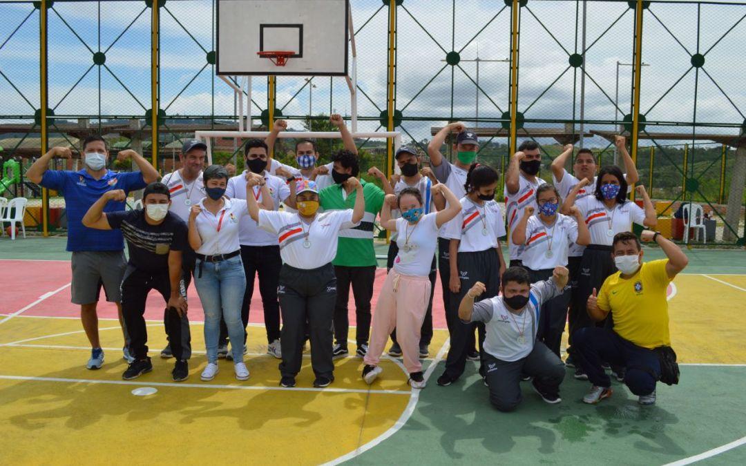 Capacitaciones a líderes, jornadas de salud y muestras deportivas enmarcaron las acciones realizadas por SportPower2 en el día de la discapacidad