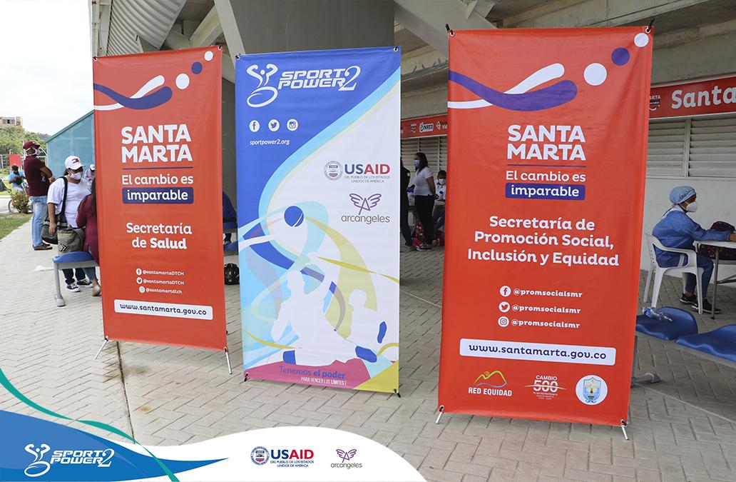 SportPower2 renovó el convenio con alcaldía de Santa Marta y continuará trabajando durante el 2021 por la población con discapacidad