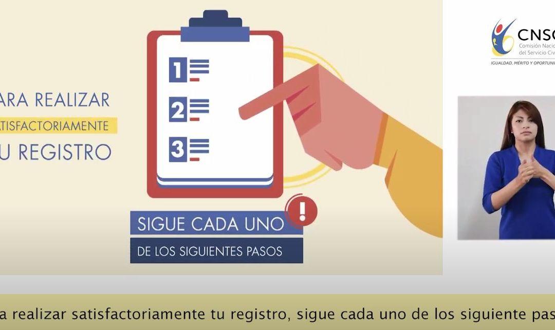 Cómo realizar el proceso de inscripción a convocatoria de empleo en municipios priorizados por el postconflicto