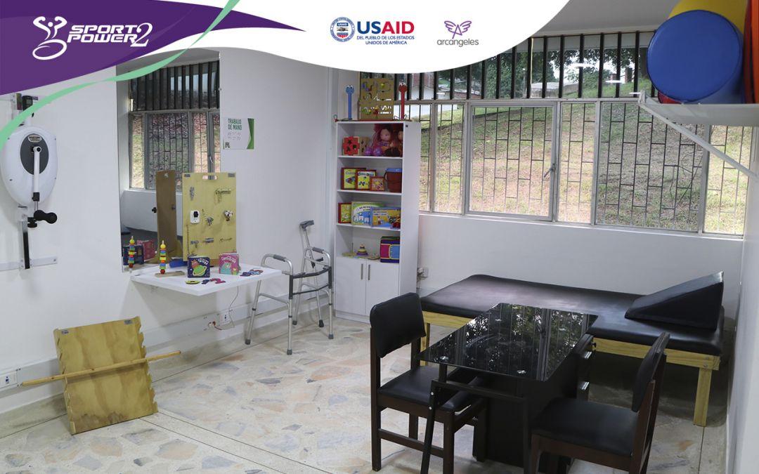 Hospital San Rafael de San Vicente del Caguán, abre nuevos servicios de rehabilitación con el apoyo de USAID y Arcángeles