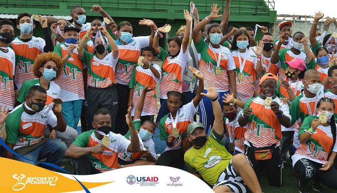 Proyectos comunitarios y festivales deportivos: herramientas de desarrollo que promueve SportPower2 en Antioquia