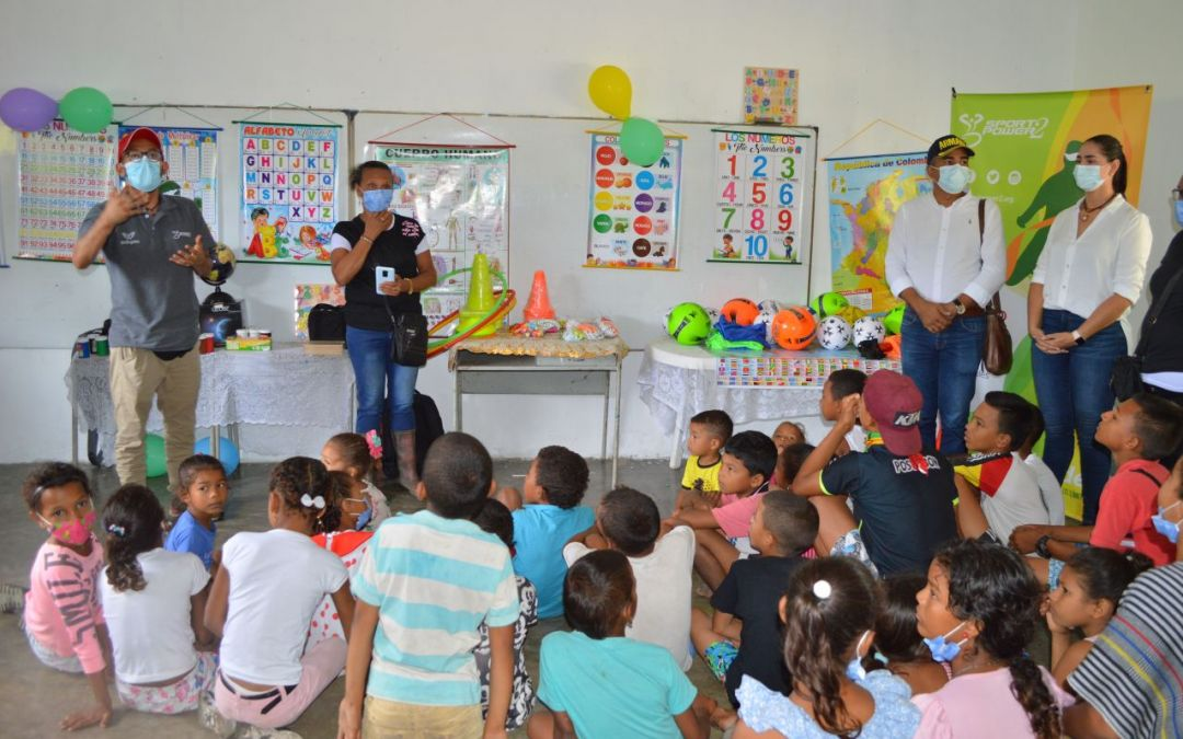 Mejoras en infraestructura de la escuela y en calidad de vida, resultado del trabajo en corregimiento de Bocas del Rosario
